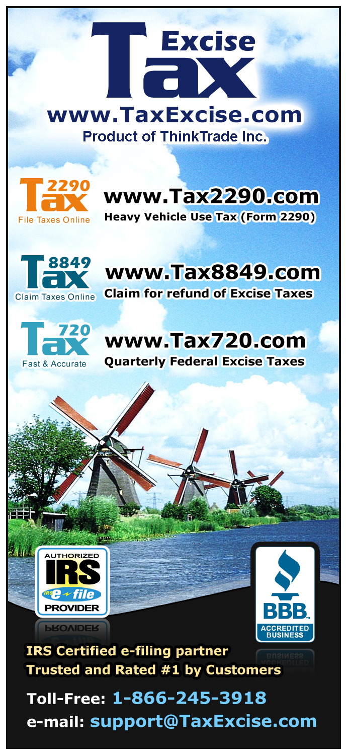 E-file Tax 2290 with TaxExcise
