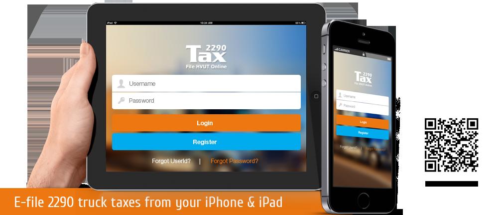 Tax2290 iOS app