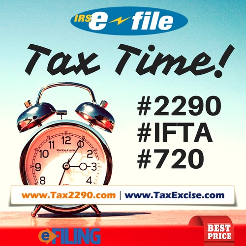 Not Only Form 2290 But Form 720 Ifta For 2nd Quarter Is Due Now