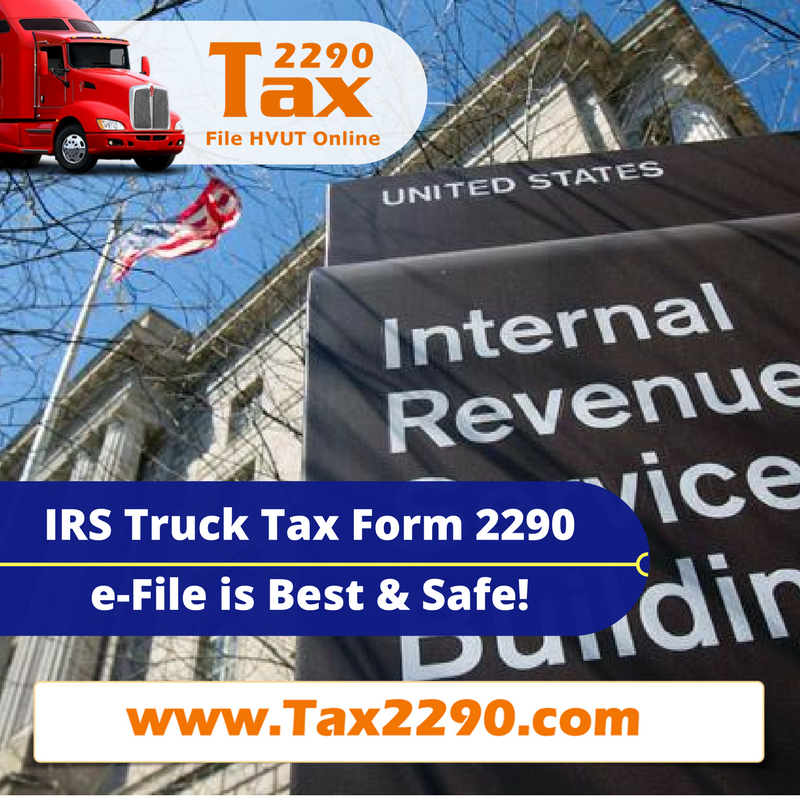 efile 2290 Federal Vehicle Use Tax Form