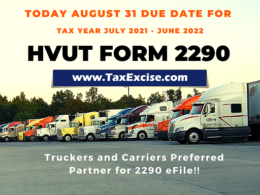 Tax 2290 Due Date Today